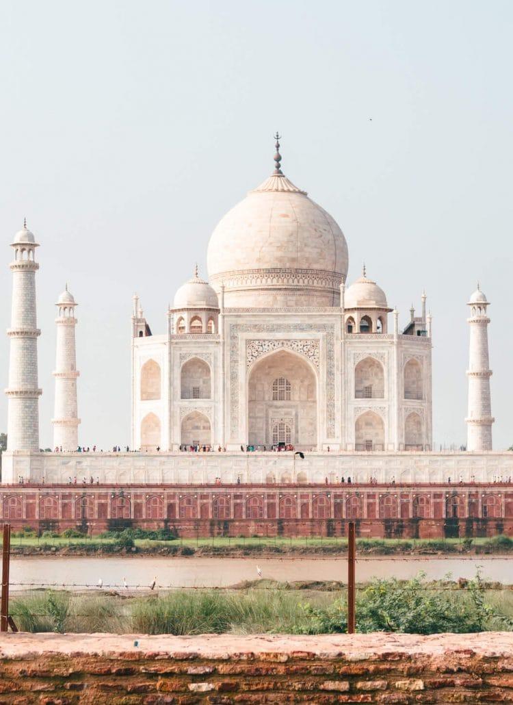 Mehtab Bagh (Moonlight Garden) – The best view of Taj Mahal