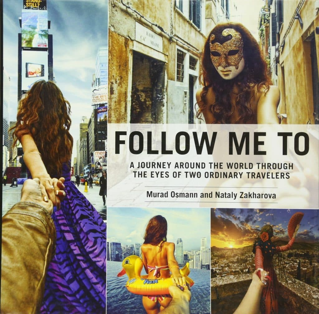 11 inspiring travel coffee table books every travel lover will love - Follow Me To by Murad Osmann