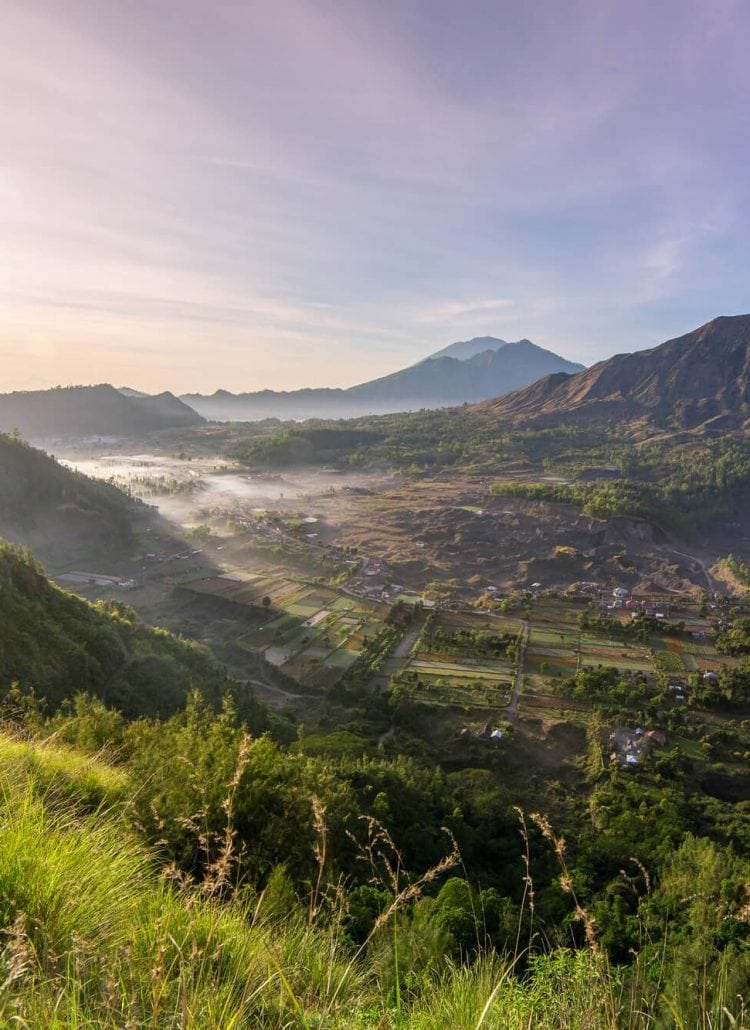 Sunrise over Pinggan Village in Bali: An experience you can't miss!
