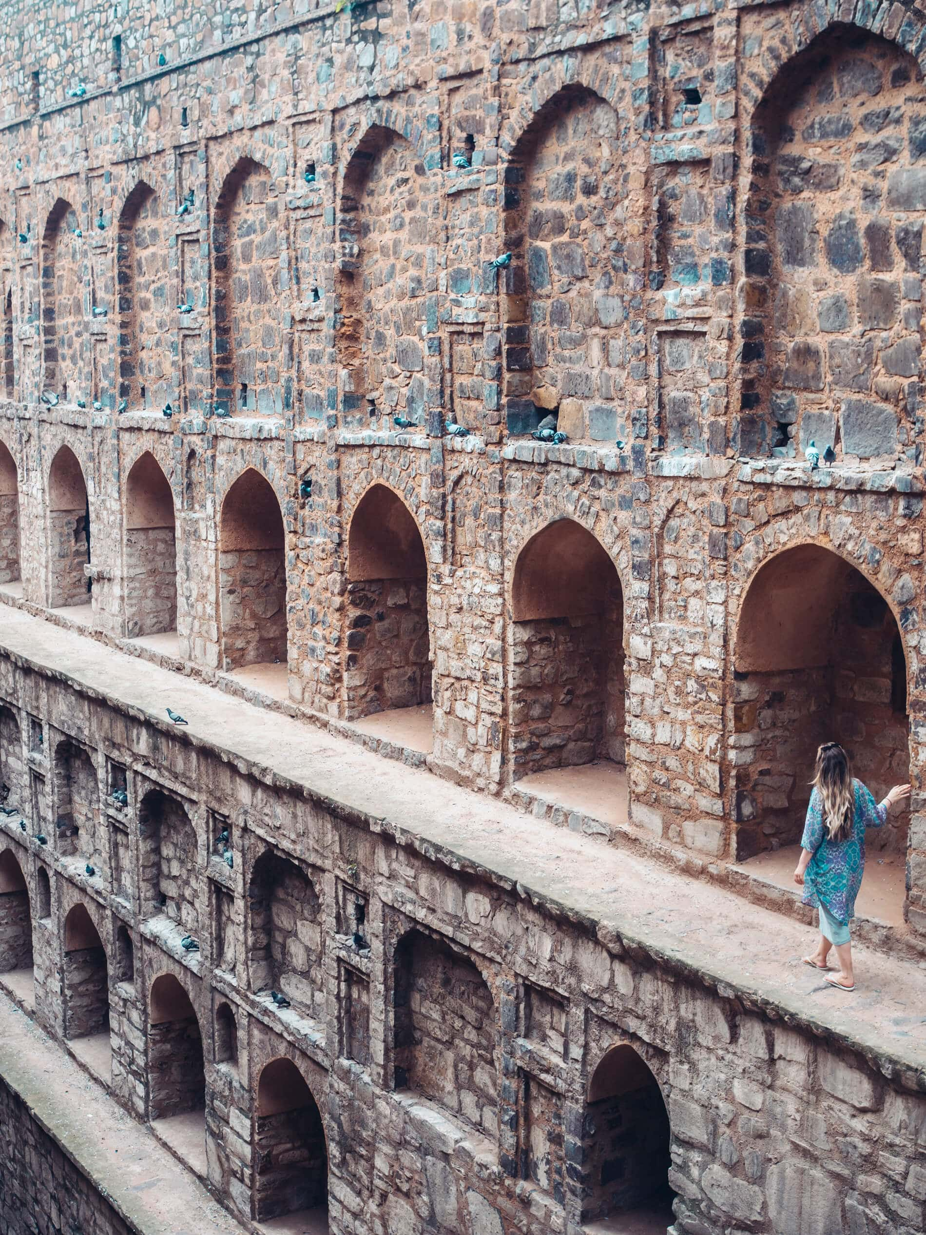 A first timer's guide to Delhi, India - Agrasen ki Baoli Stepwell