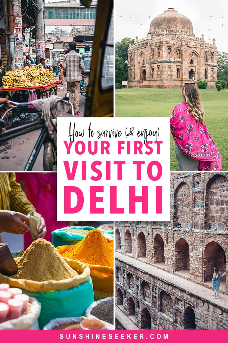 Everything you need to know before visiting Delhi, India for the first time #delhi #india #travelinspo #newdelhi