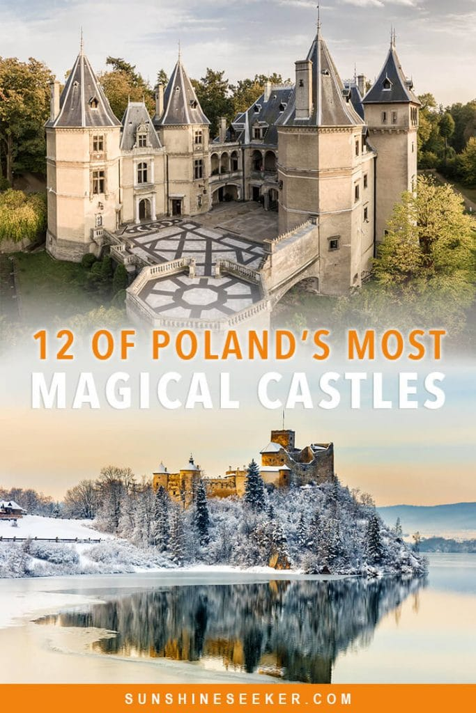 12 of the most beautiful fairytale castles in Poland you should add to your bucket list now #poland #castles #fairytale #bucketlist #travelinspo
