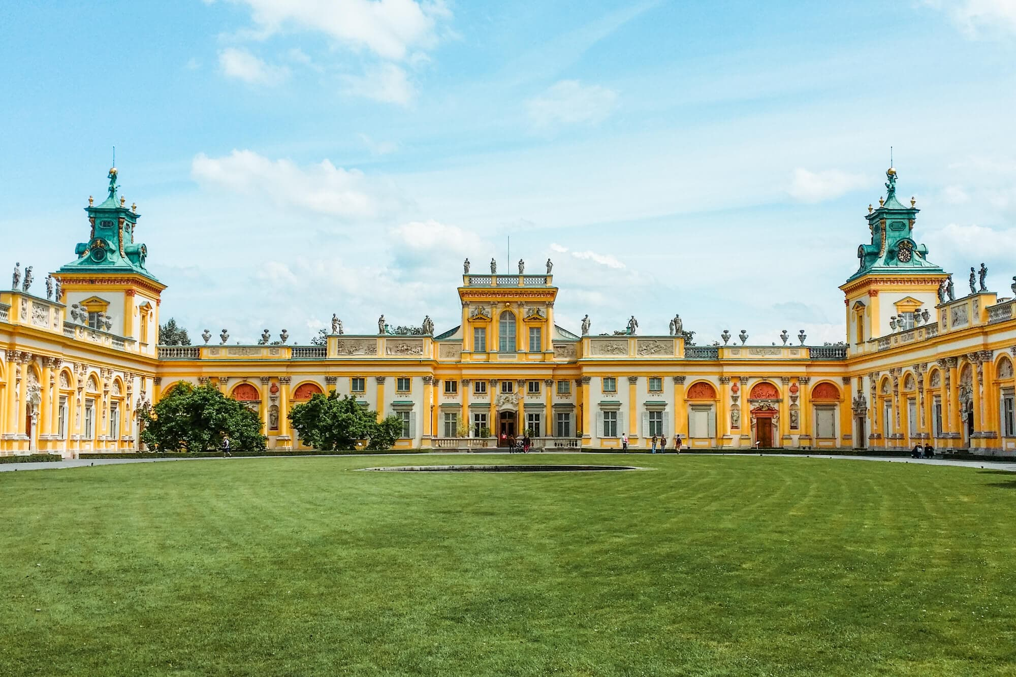 12 of the most beautiful castle in Poland you should add to your bucket list - Wilanow Palace Warsaw