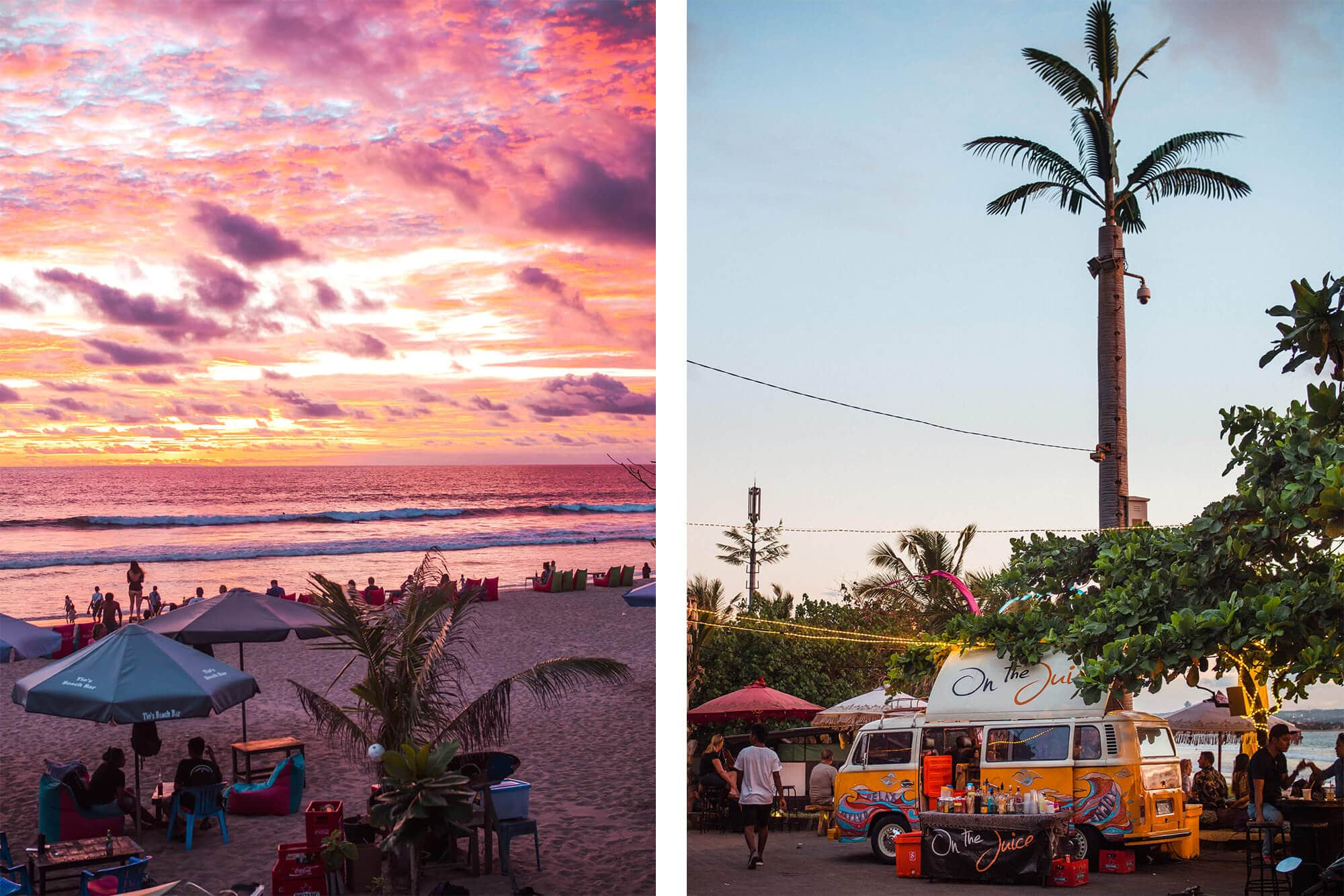 Island Life - Moving back to Bali & Lombok - On The Juice Legian Beach
