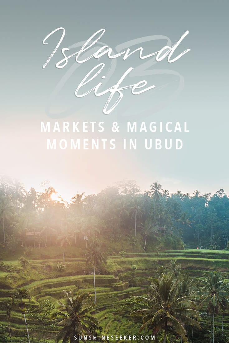 Island Life #3 - Following along on our journey moving back to Indonesia. This week we are in Ubud and visit the Art Market, Tegalalang Rice Terrace + much more #bali #bucketlist #indonesia #travelinspo #ubud