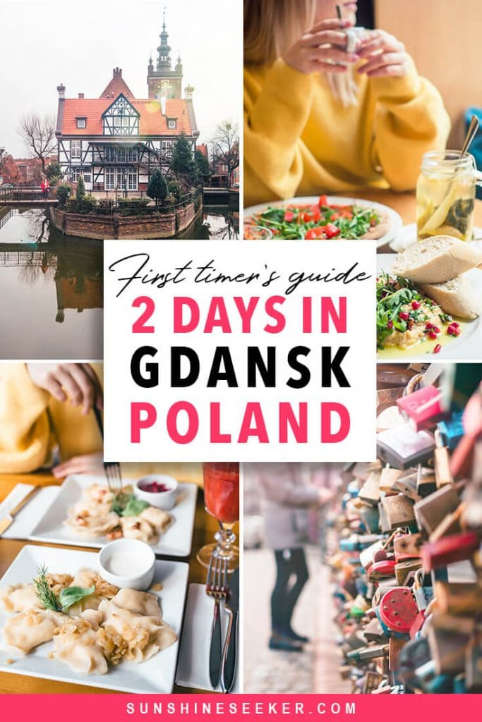 A first timer's guide to Gdansk, Poland. Top things to do in Gdansk in 2 days + where to stay and what to eat #gdansk #poland #bucketlist #travelinspo #budgettravel