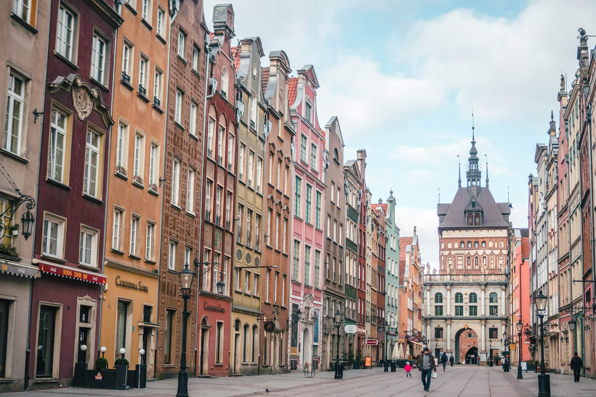 2 days in Gdansk, Poland - Take a stroll down Long Street towards the Golden Gate