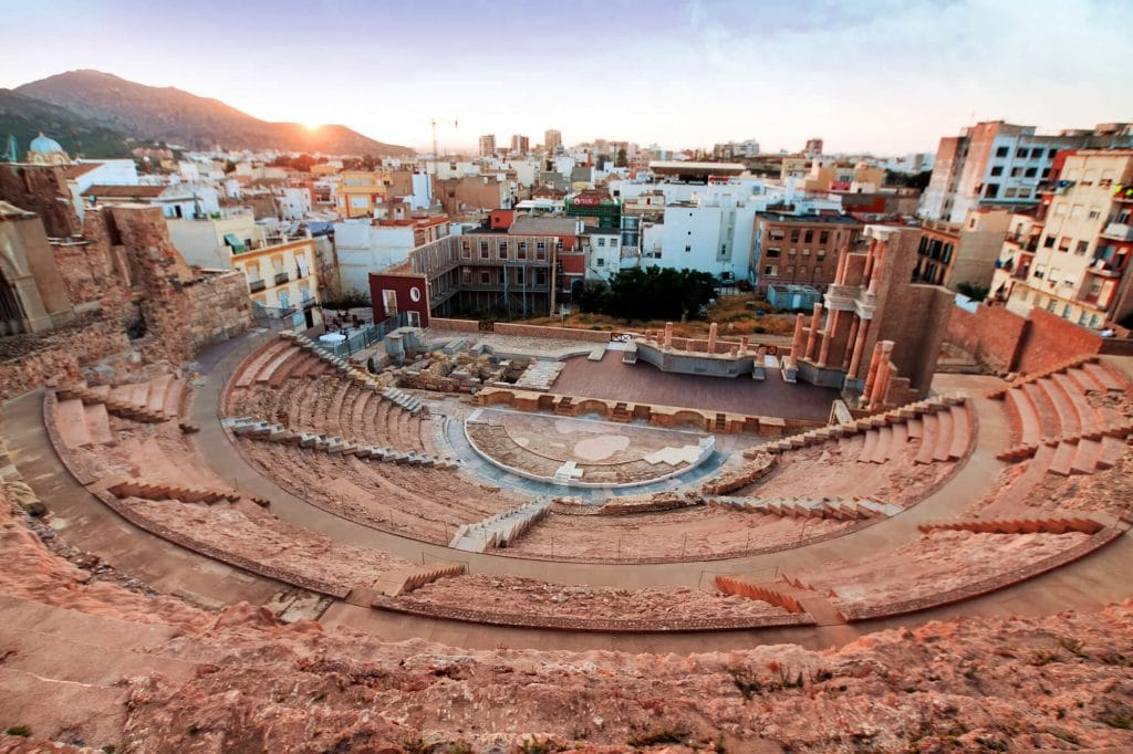 Murcia, Spain: Top 14 awesome things to do - Roman Theatre in Cartagena