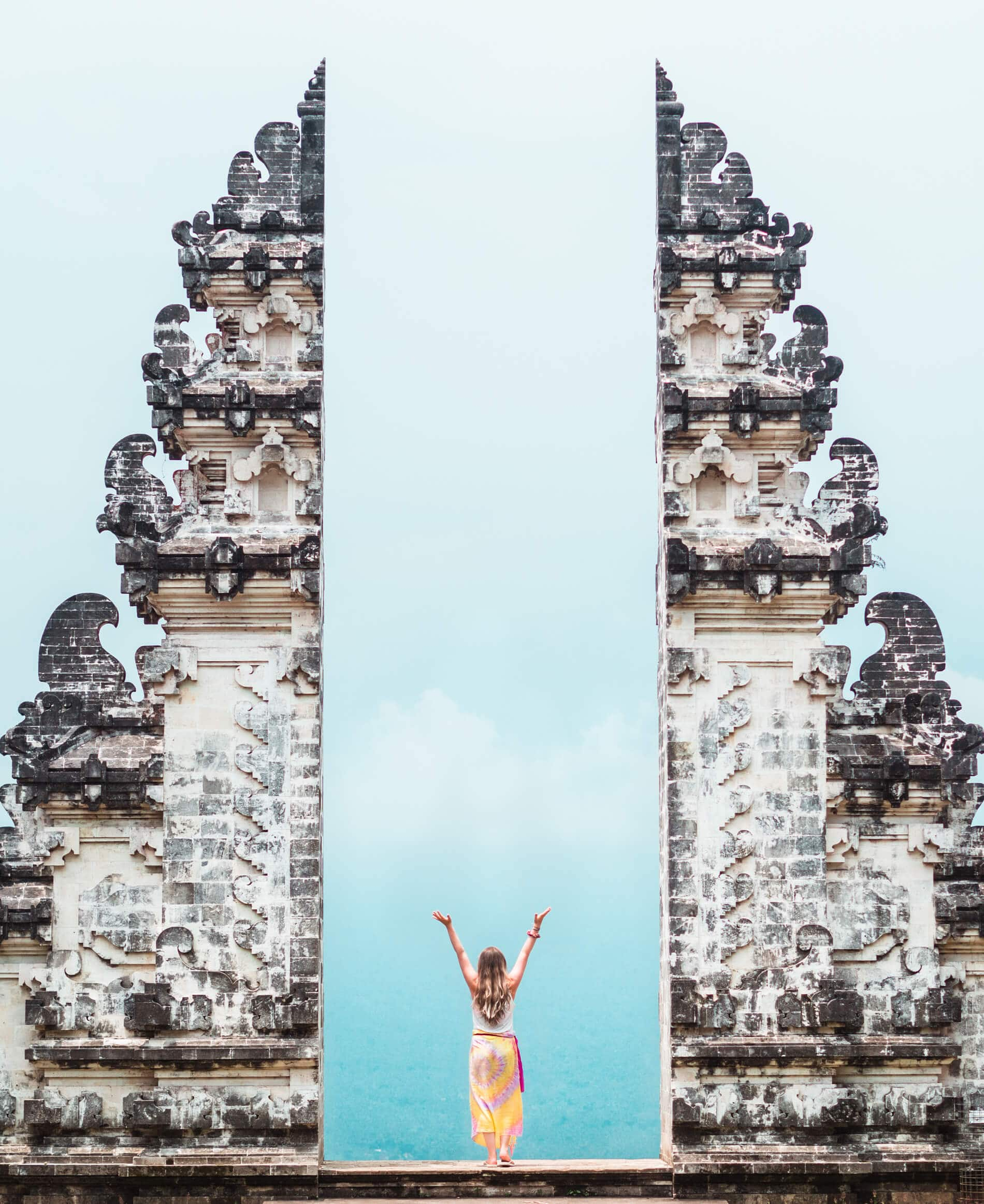 Everything you need to know before visiting Pura Lempuyang Temple in Bali: What to wear, how to get there, what to expect + why I think you should add Bali's most spectacular temple to your bucket list now