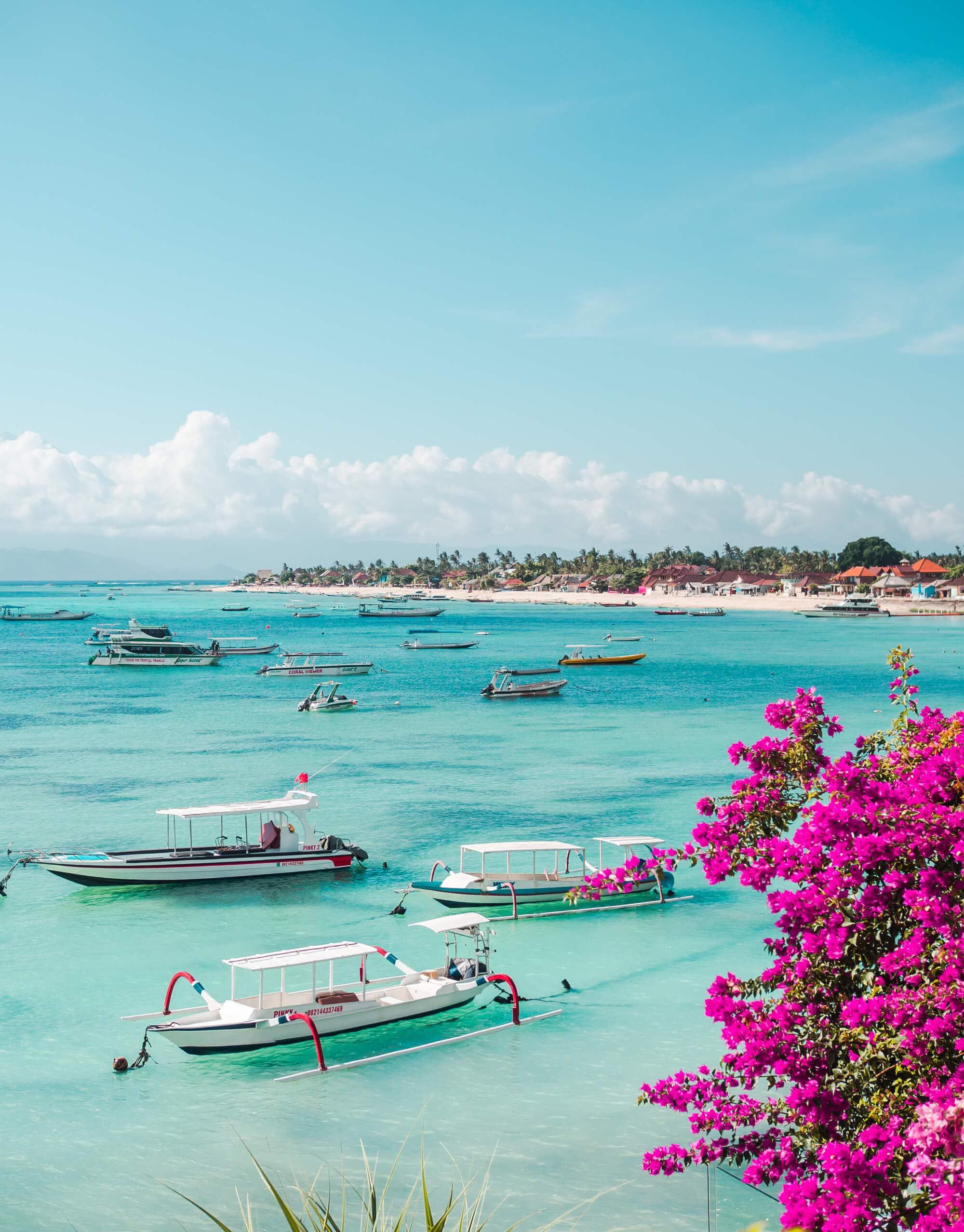 The ultimate 2 week Bali itinerary - Nusa Lembongan boardwalk view