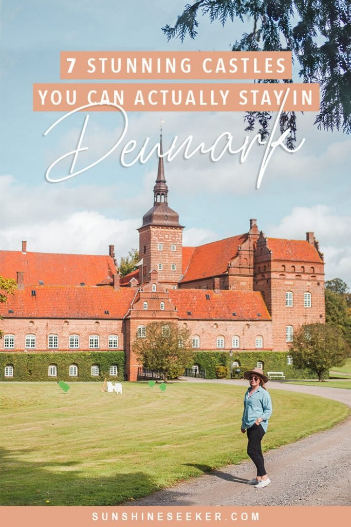 Are you wondering where to stay in Denmark? Check out these 7 fairytale castle hotels #denmark #copenhagen #castlehotel #fyn #travelinspo