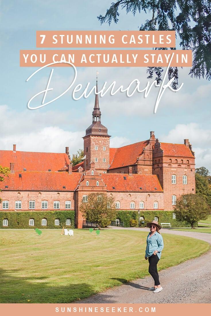 Are you wondering where to stay in Denmark? Check out these 7 fairytale castle hotels #denmark #copenhagen #castlehotel #fyn #travelinspo