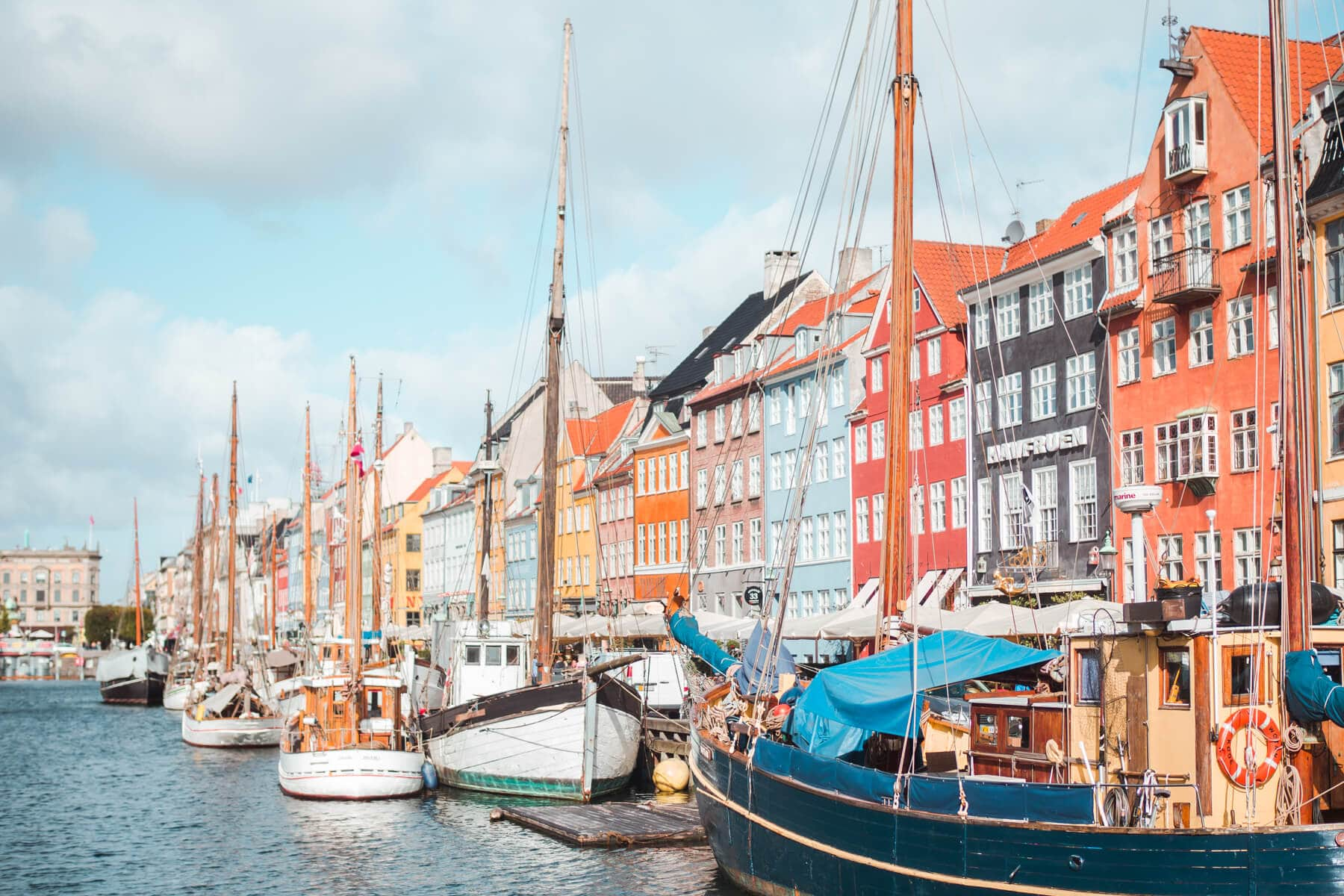 The Ultimate Denmark Bucket List. 101 awesome things to do - Colorful Nyhavn in Copenhagen