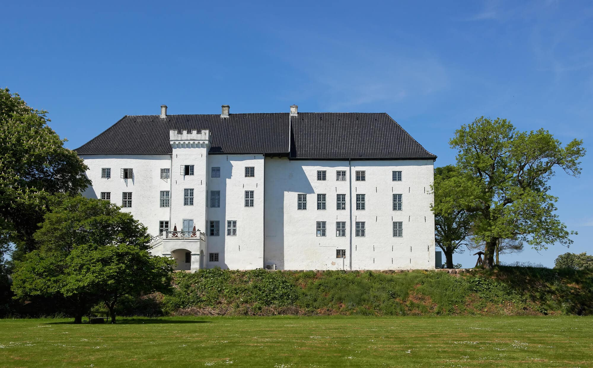 Dragsholm Castle - This haunted hotel is the perfect place to stay in Denmark if you dare