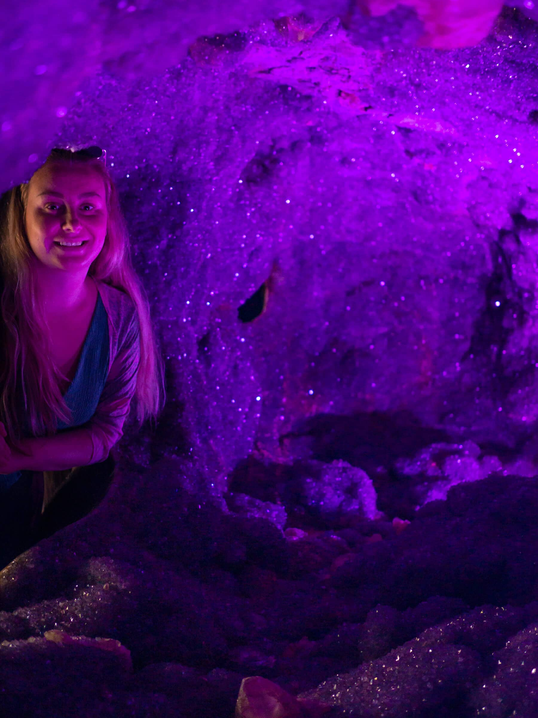 The incredibly stunning Crystal Castle & shambhala Gardens located in the Byron Bay hinterlands - The enchanted amethyst cave