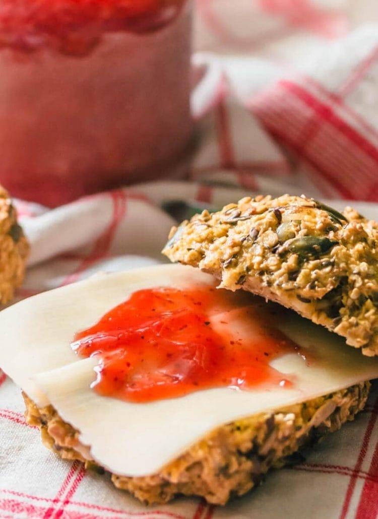 Quick & healthy high-protein breakfast rolls/scones