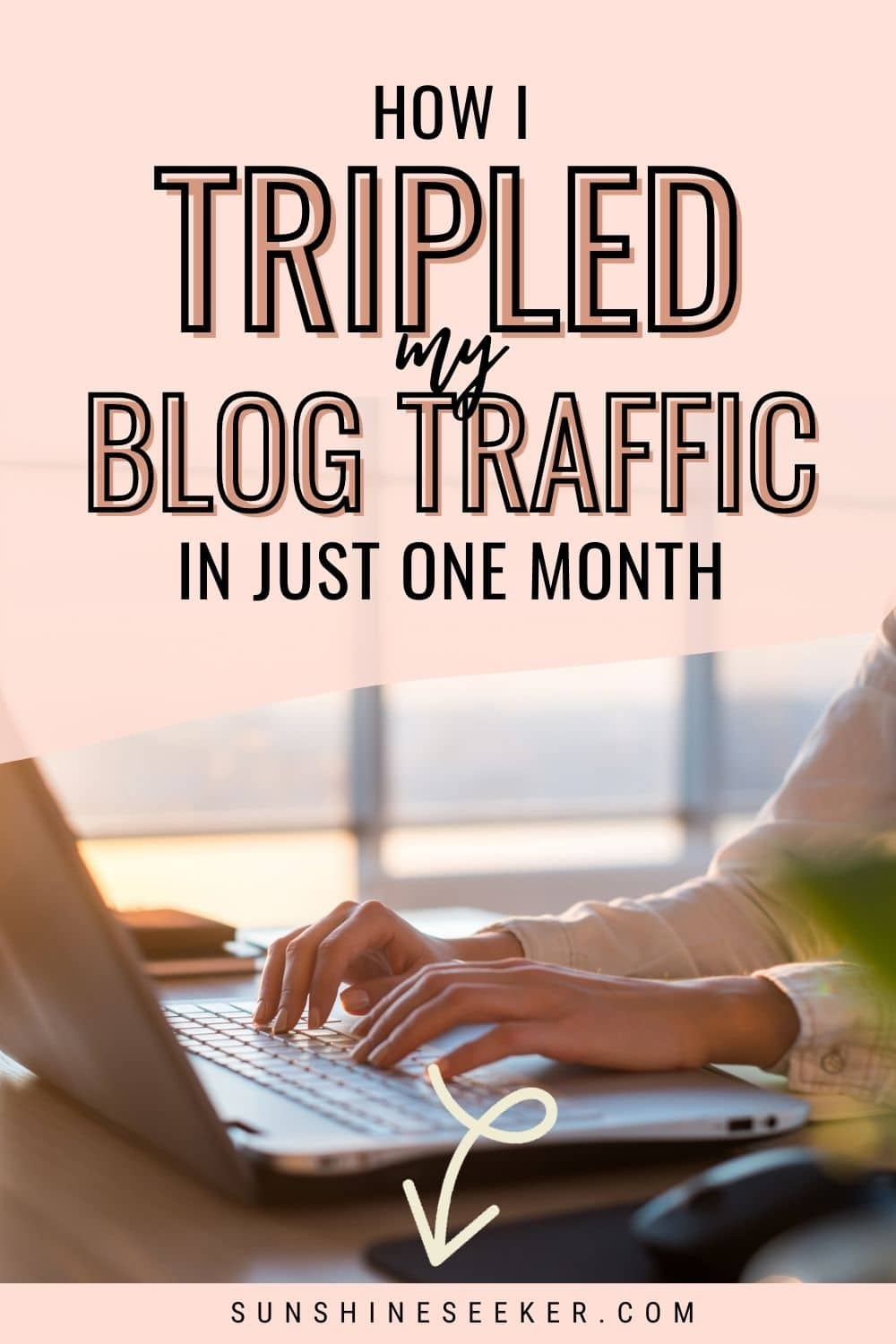Are you wondering how to grow your blog traffic in 2020? Click through to see how I tripled my blog traffic in just one month. It feels so good to finally see results after one year of stagnant traffic. Finally, a Pinterest strategy that actually works for travel blogs! This strategy is updated after the most recent Pinterest algorithm change in 2020. Increase traffic to your blog today! #pinterest #pinterestcourse #trafficgrowth #blogtraffic #bloggingtips