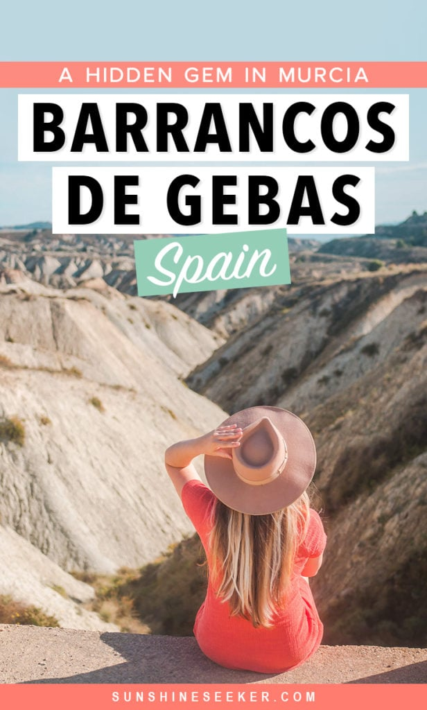 Barrancos de Gebas: The incredible Lunar Badlands in Murcia Spain