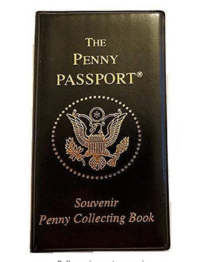 Pressed Penny Souvenir collector book