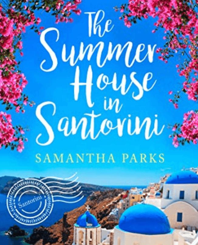 The Summer House in Santorini romance novel