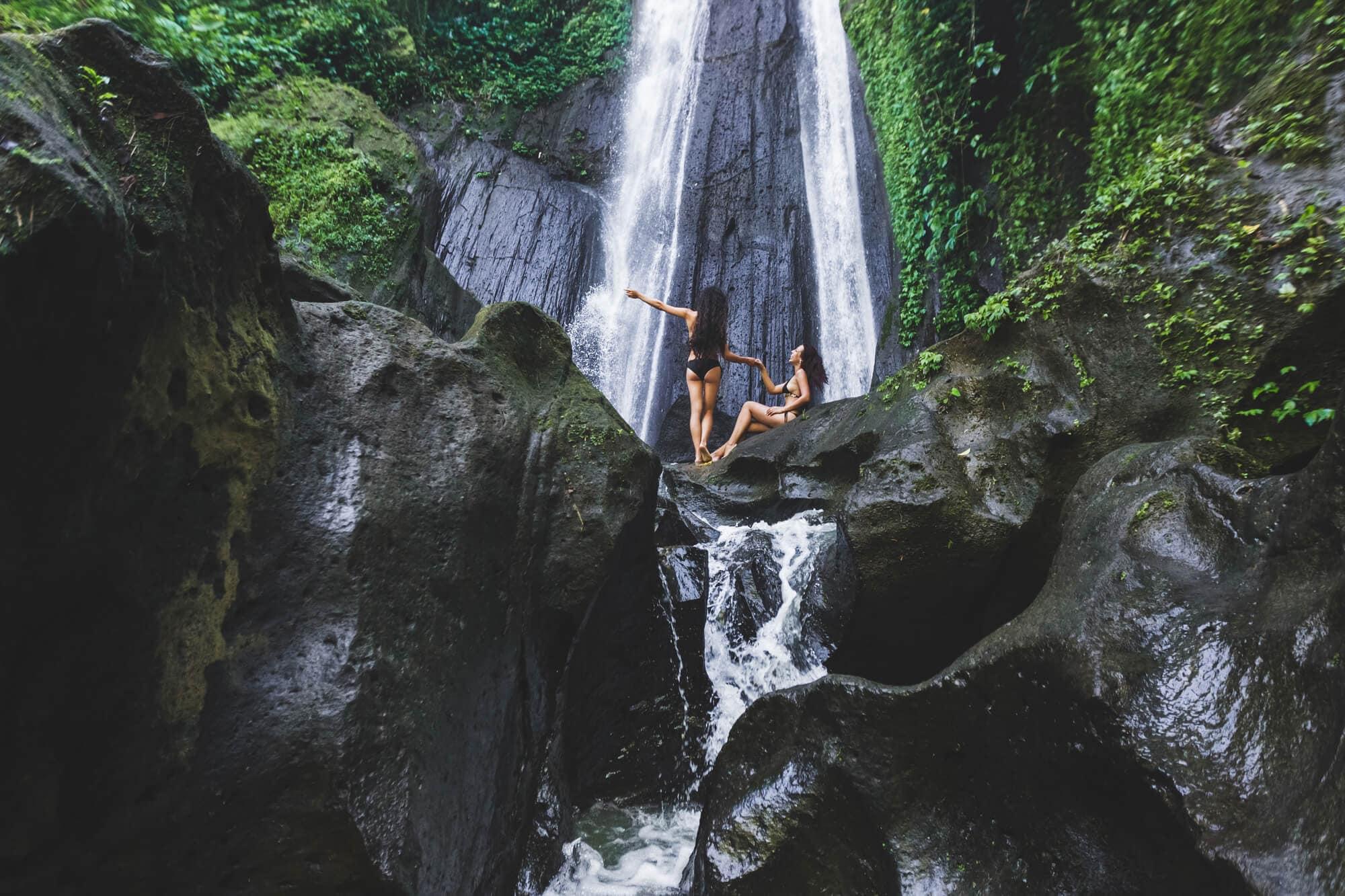 Dusun Kuning Waterfall - One of the best waterfalls in East Bali