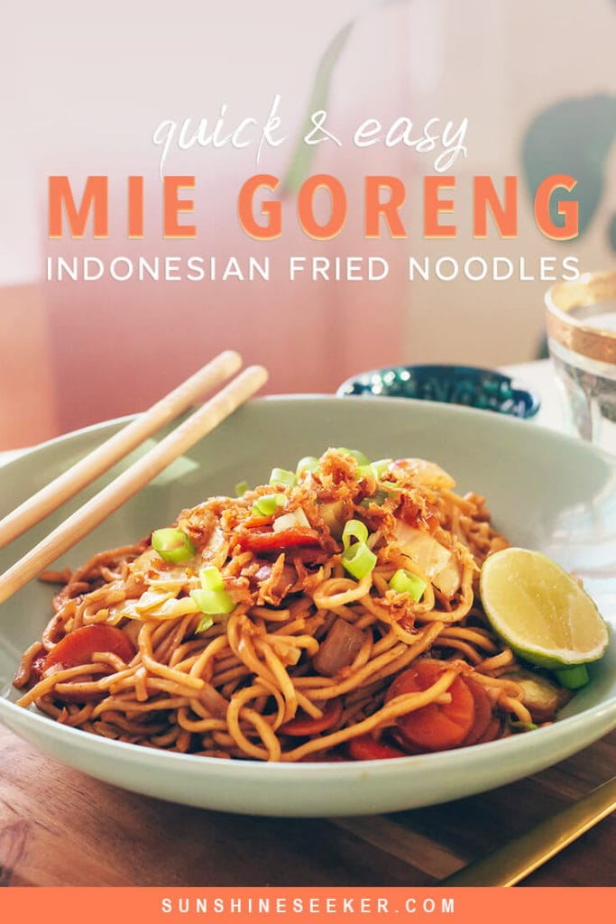 Click through for a quick and easy Indonesian Mie Goreng Recipe