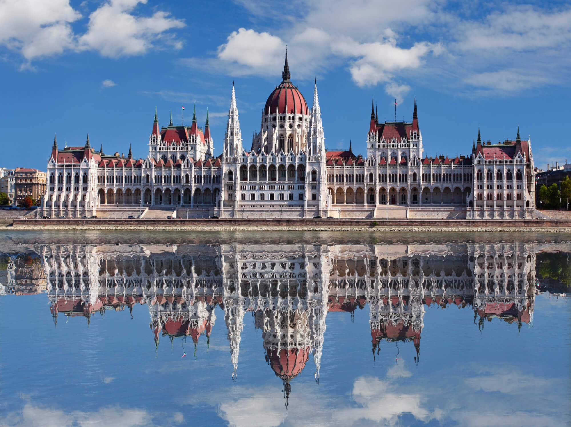 Budapest Instagram photo guide - The Hungarian Parliament seen from the river