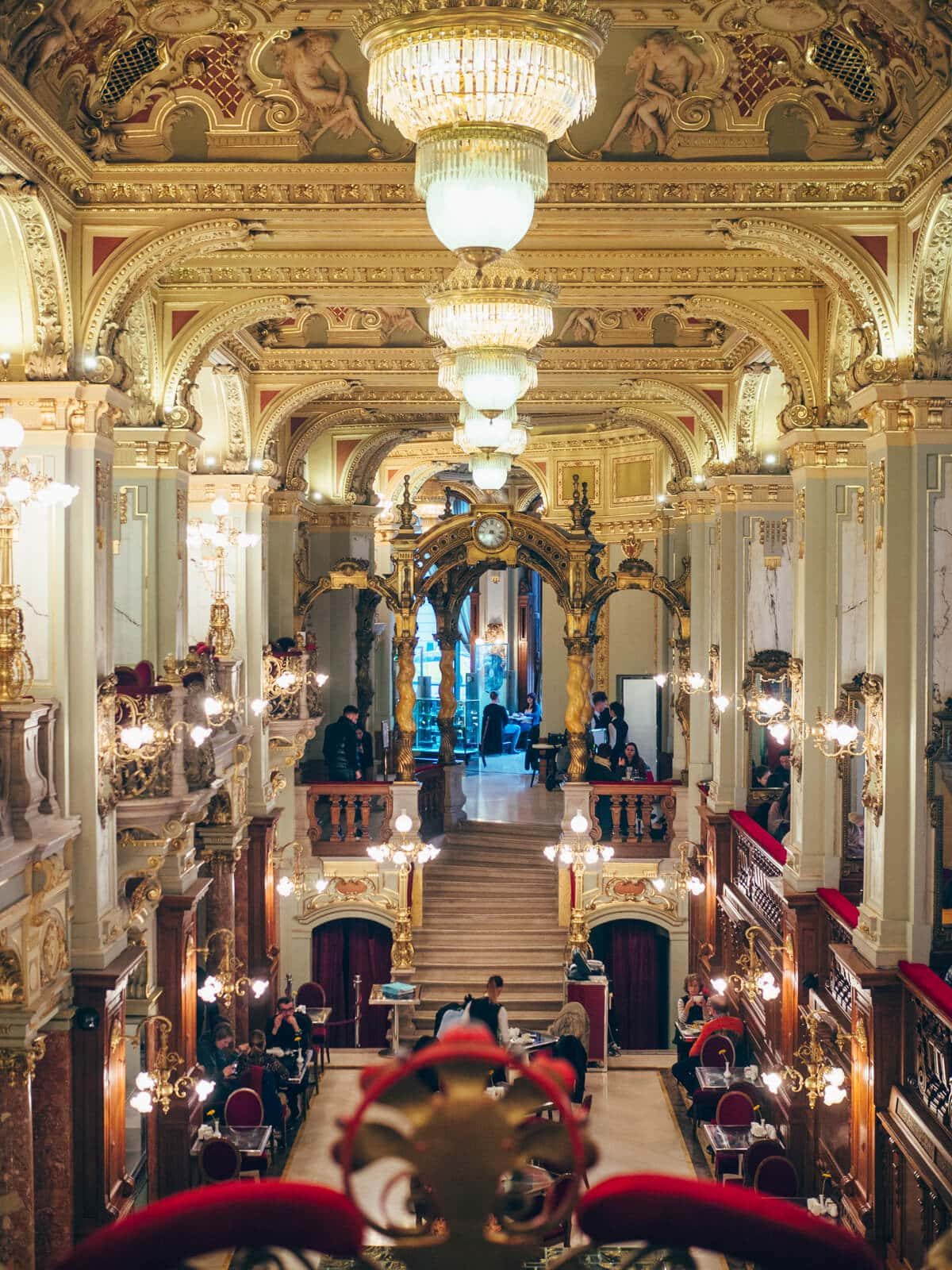 Budapest Instagrammable Places - The most beautiful cafe in the world