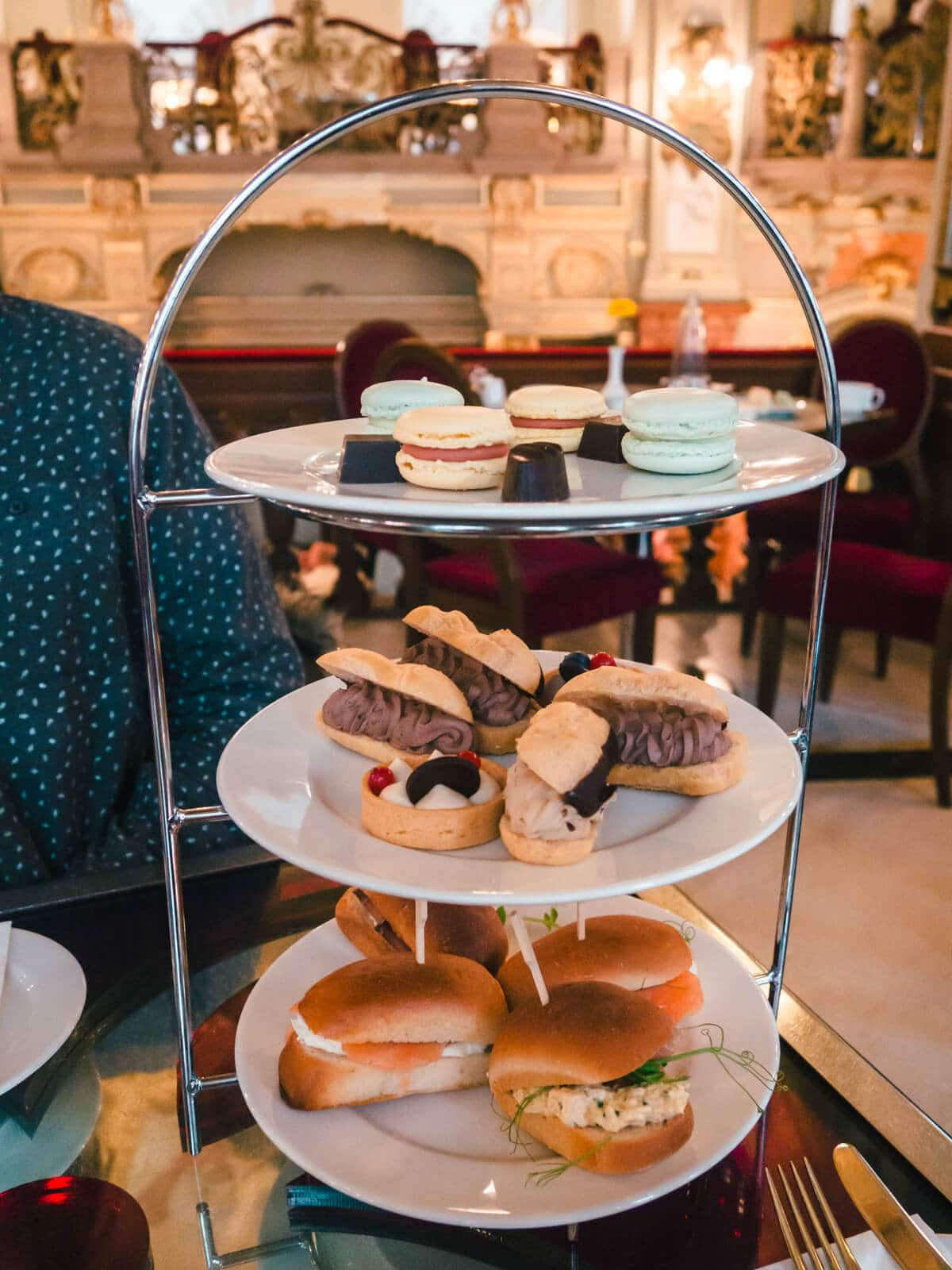 Budapest Instagrammable Places - Afternoon Tea at New York Cafe