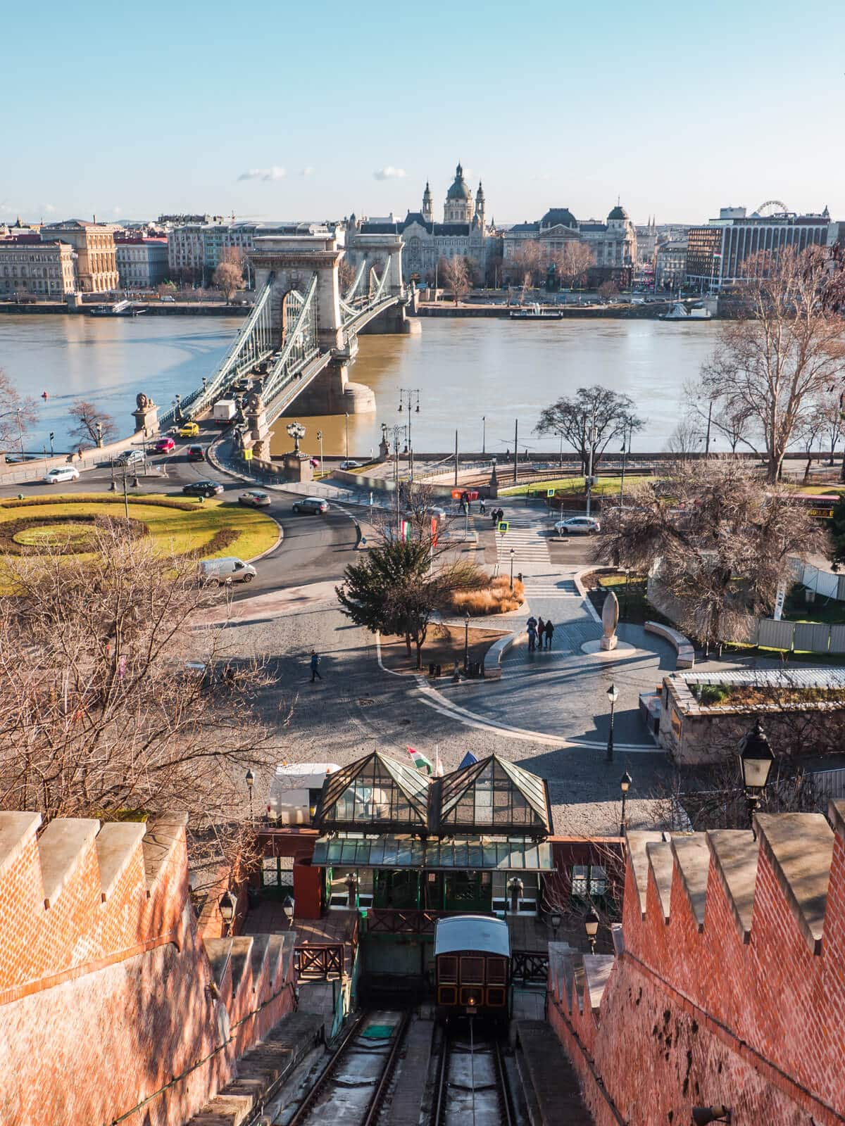 Budapest Instagrammable Places - Castle Hill Funicular