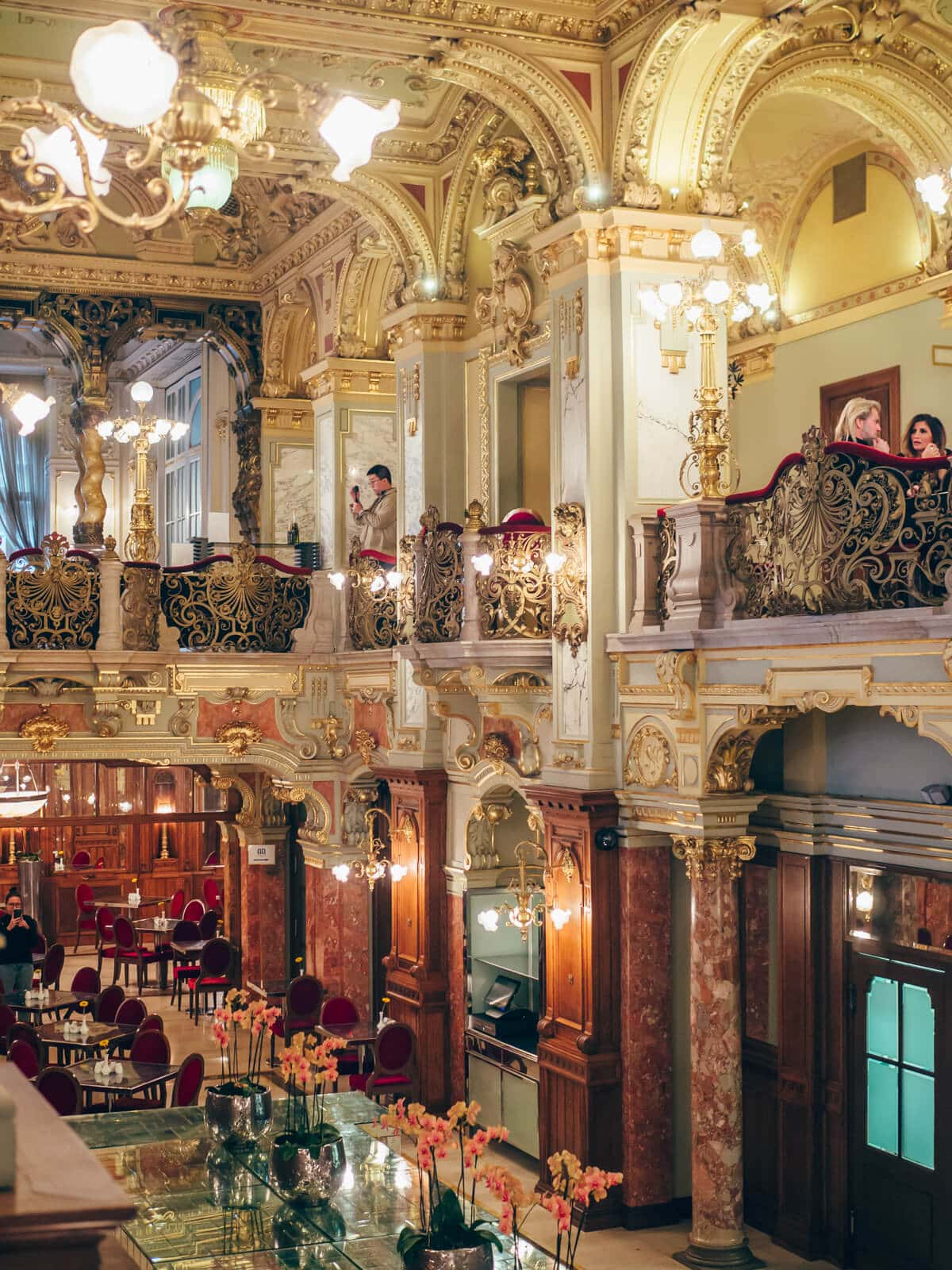 Budapest Instagrammable Places - New York Cafe