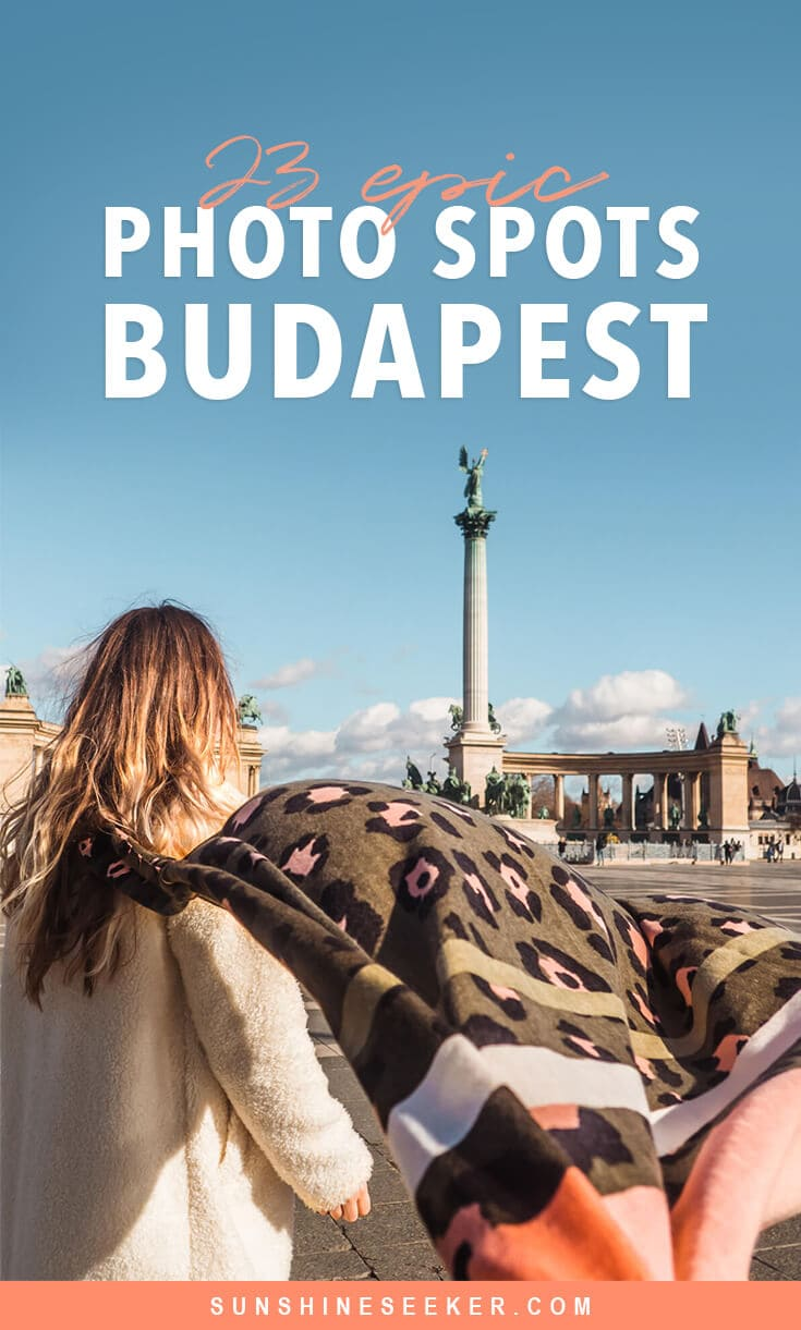 Discover the most Instagrammable places in Budapest. From sunrise over Fisherman's Bastion to gorgeous sunset views at the 360 Igloo Bar. 23 sights and attractions you can't miss #budapest #hungary #fishermansbastion #igloobar #instagram