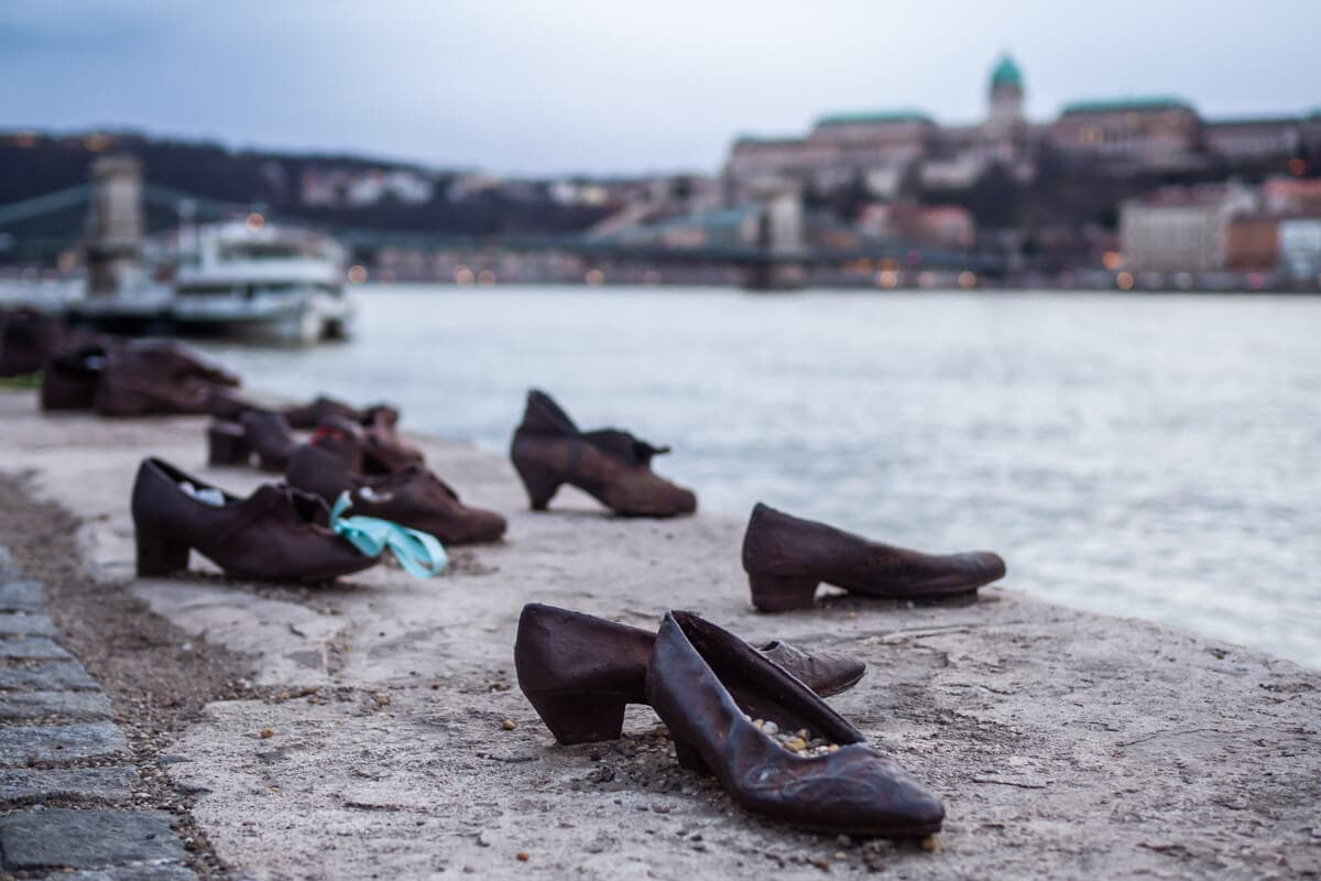 Budapest Instagram photo guide - Shoes on the Danube Bank