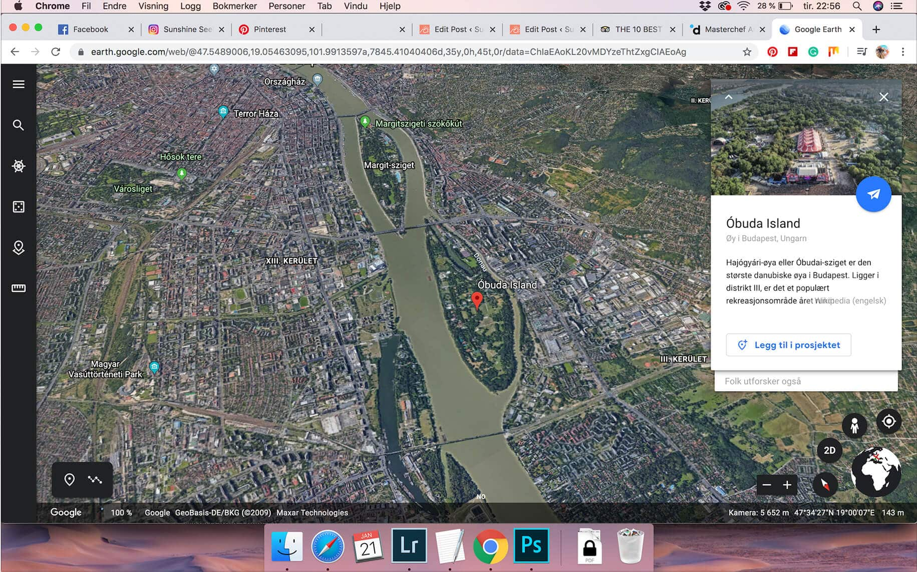 In an effort to be more spontaneous we let Google Earth choose our destination - And we ended up in Budapest