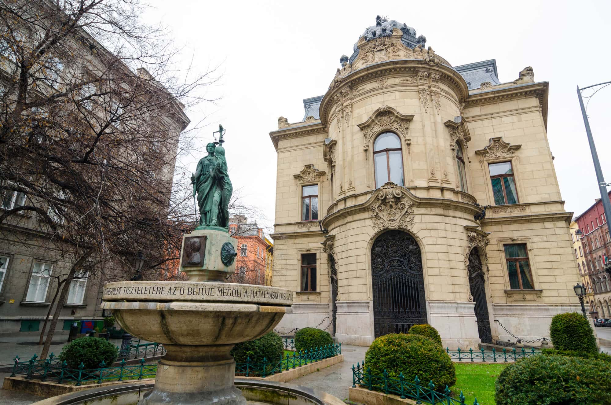 Budapest Instagram photo guide - Metropolitan Ervin Szabó Library