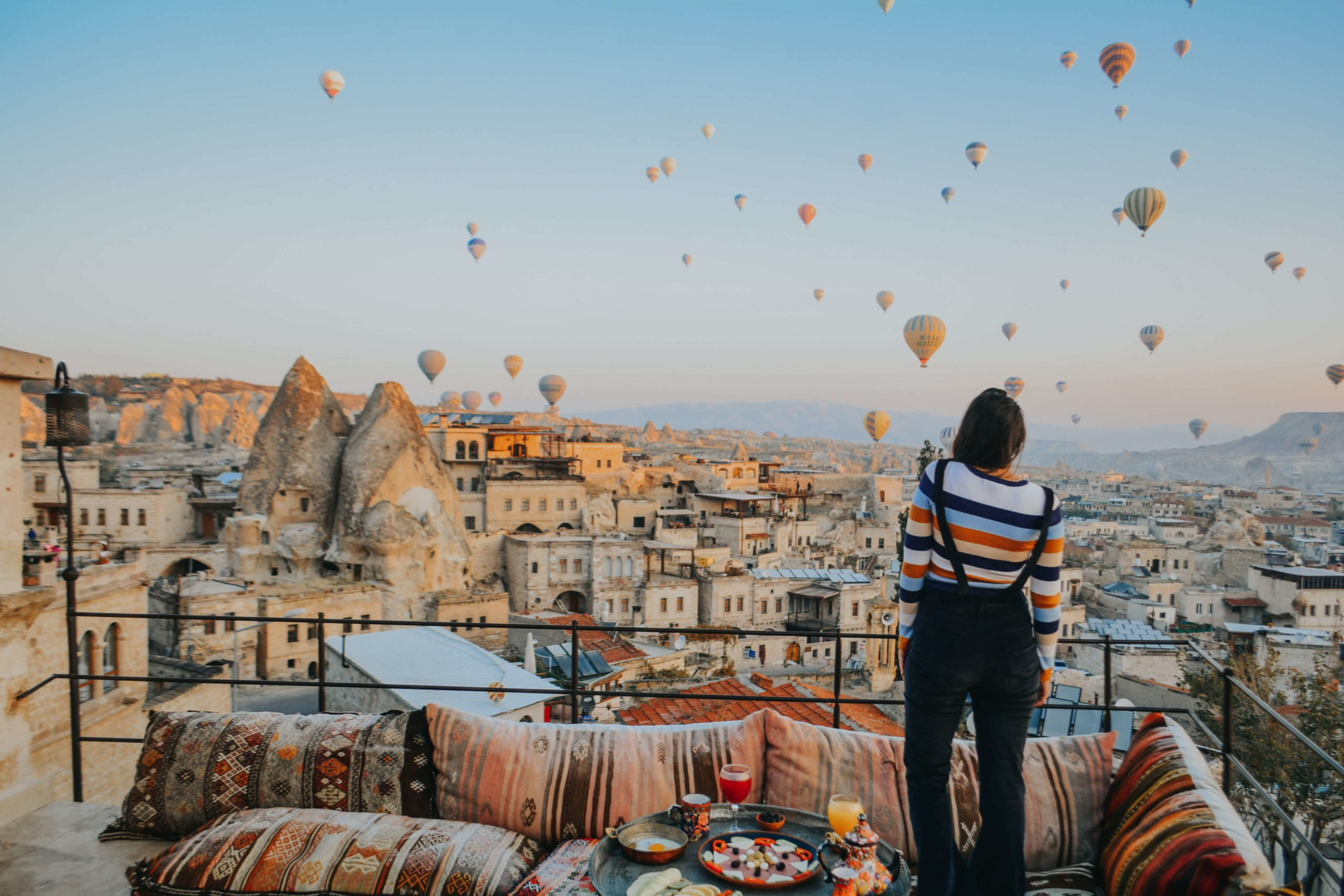 Travel bloggers reveal their most unforgettable travel experiences - Hot air ballooning in Cappadocia, Turkey