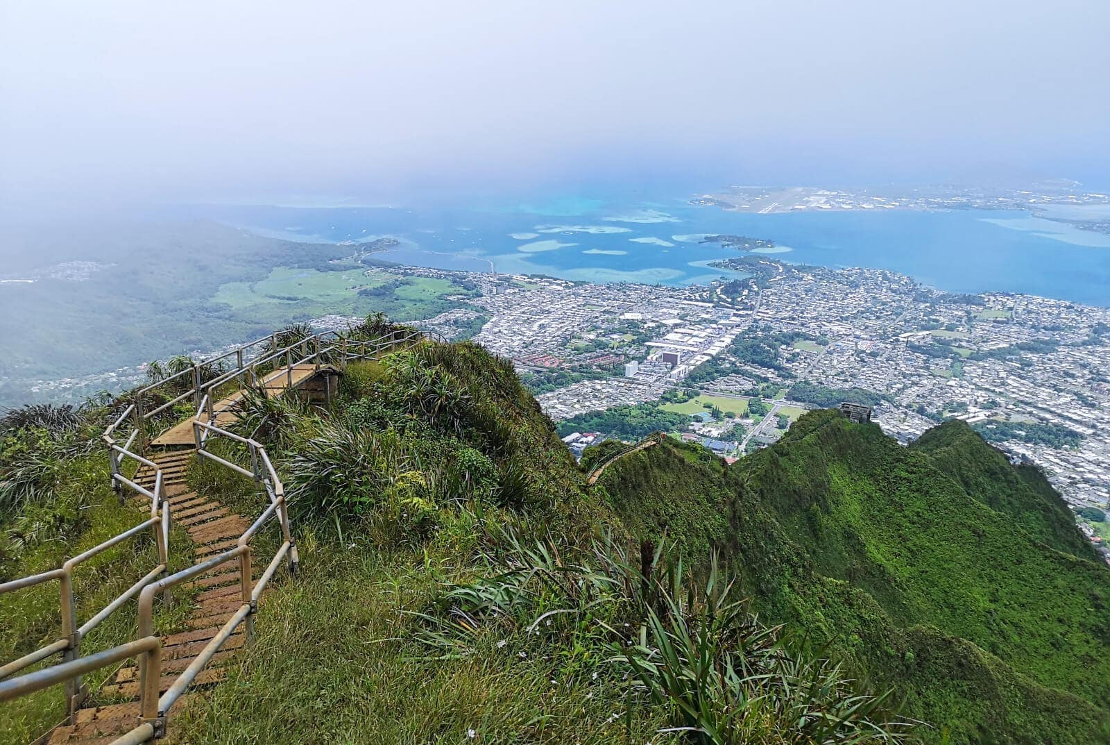 Travel bloggers reveal their most unforgettable travel experiences - Hiking the Stairway to Heaven on Oahu, Hawaii (the legal way)