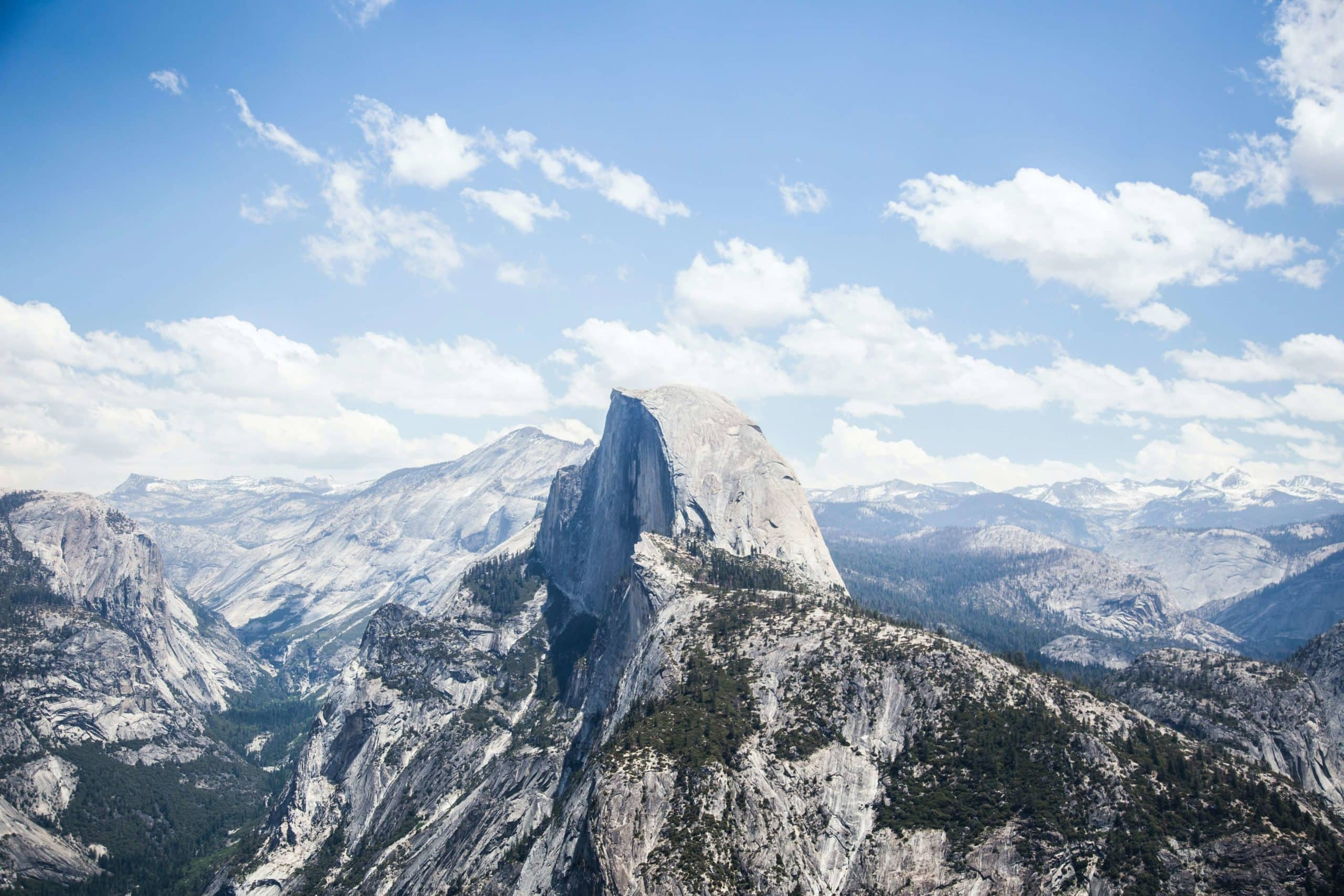 Travel bloggers reveal their most unforgettable travel experiences - Hiking to the Top of Half Dome in Yosemite National Park