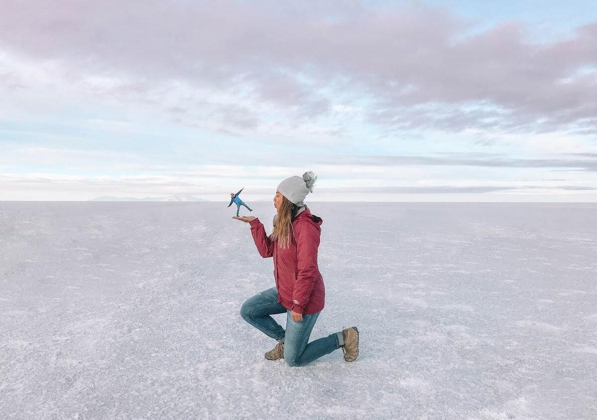 Travel bloggers reveal their most unforgettable travel experiences - Salar de Uyuni salt flats in Bolivia