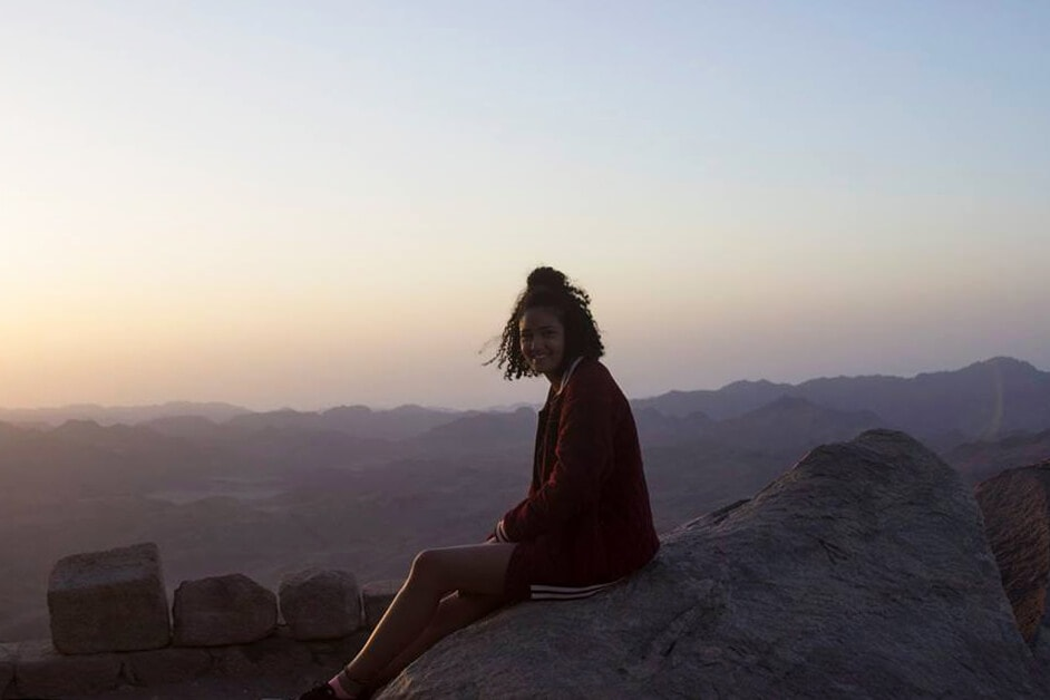 20 travel bloggers reveal their most unforgettable travel experiences - On top of Mount Sinai in Egypt