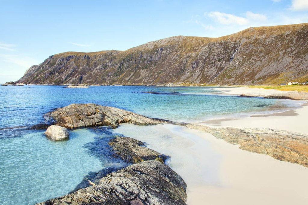 The picturesque Grotlesanden - My favorite beach in Norway