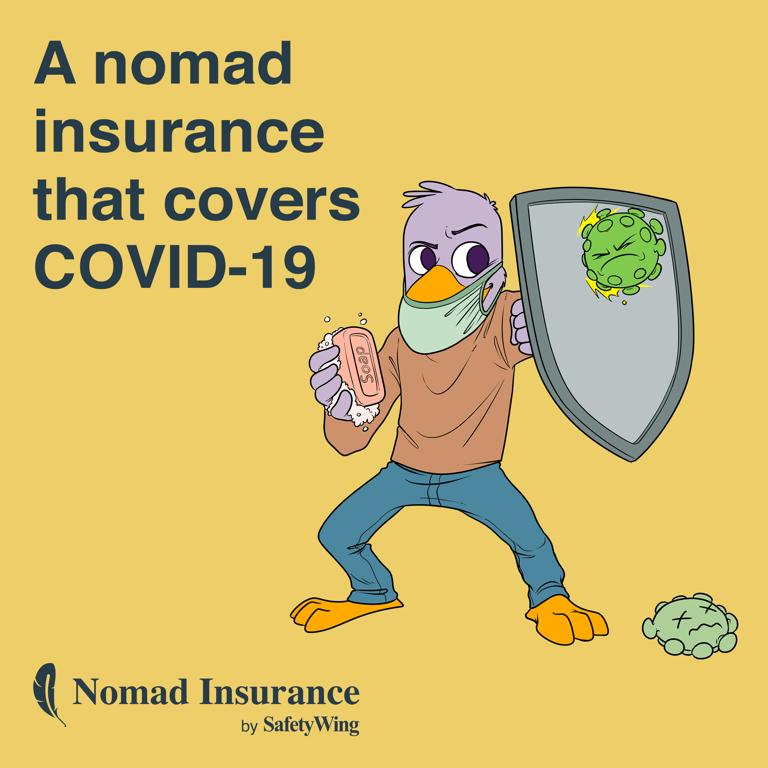 Best travel & medical insurance for digital nomads that covers covid-19