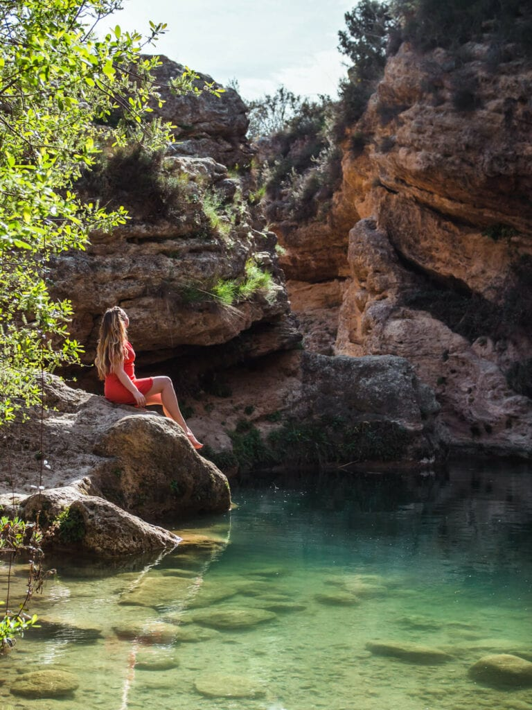 Salto del Usero - The stunning emerald green hidden waterfall in Bullas, Murcia