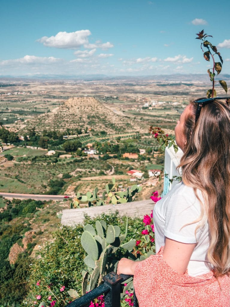 Incredible views in Mojácar Pueblo - One of the most beautiful white villages in Spain