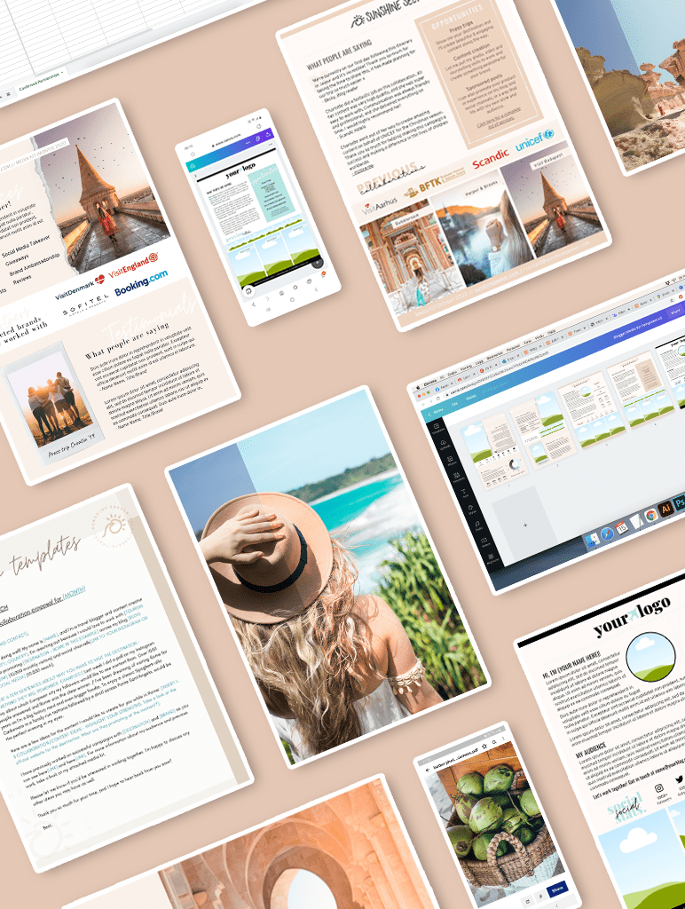 An overview of The Travel Creator Toolkit - A collections of tools and templates to help you take you content creation game to the next level