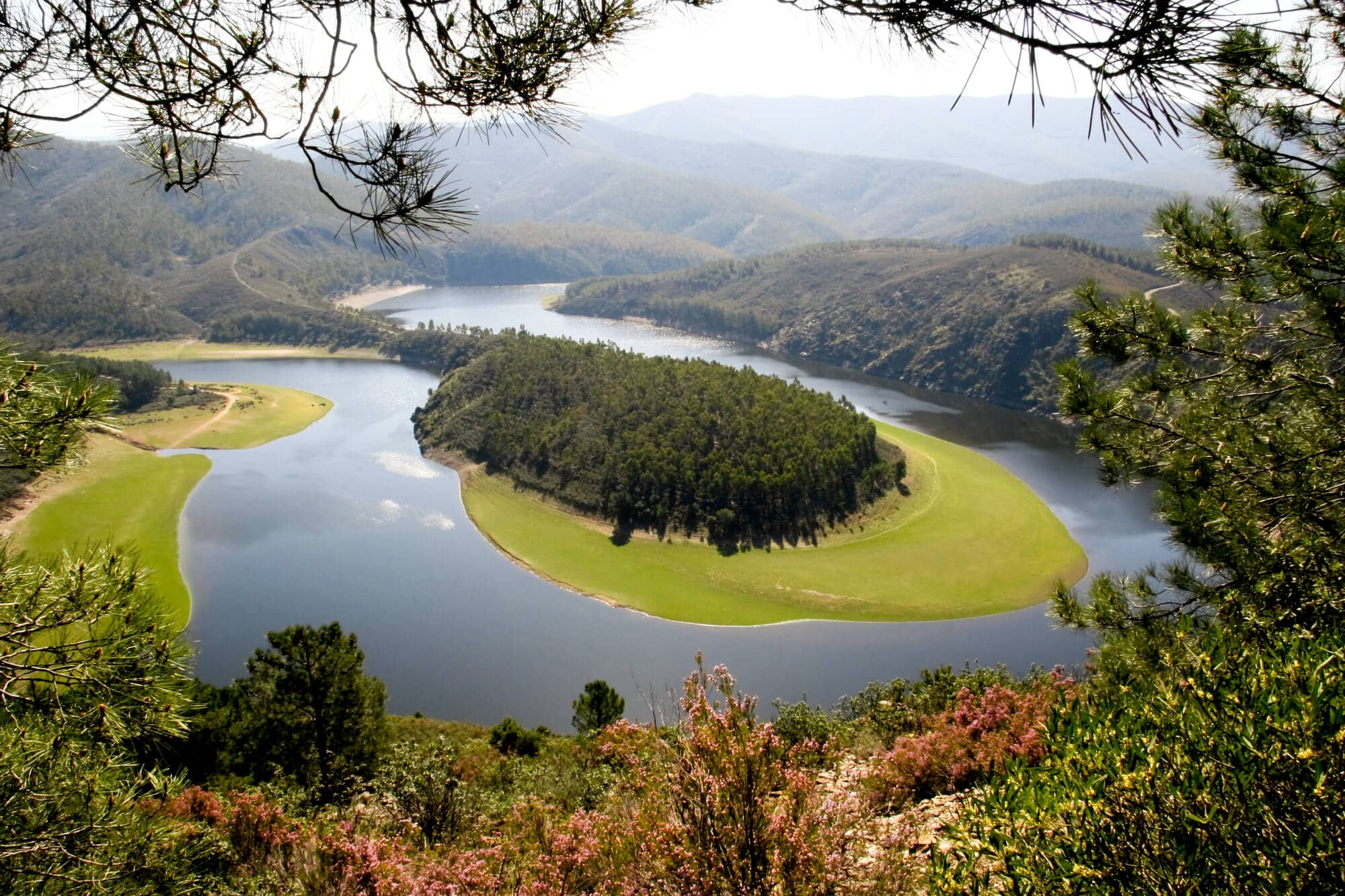 A meander of the Alagón River in Extremadura - The Ultimate Spain Bucket List