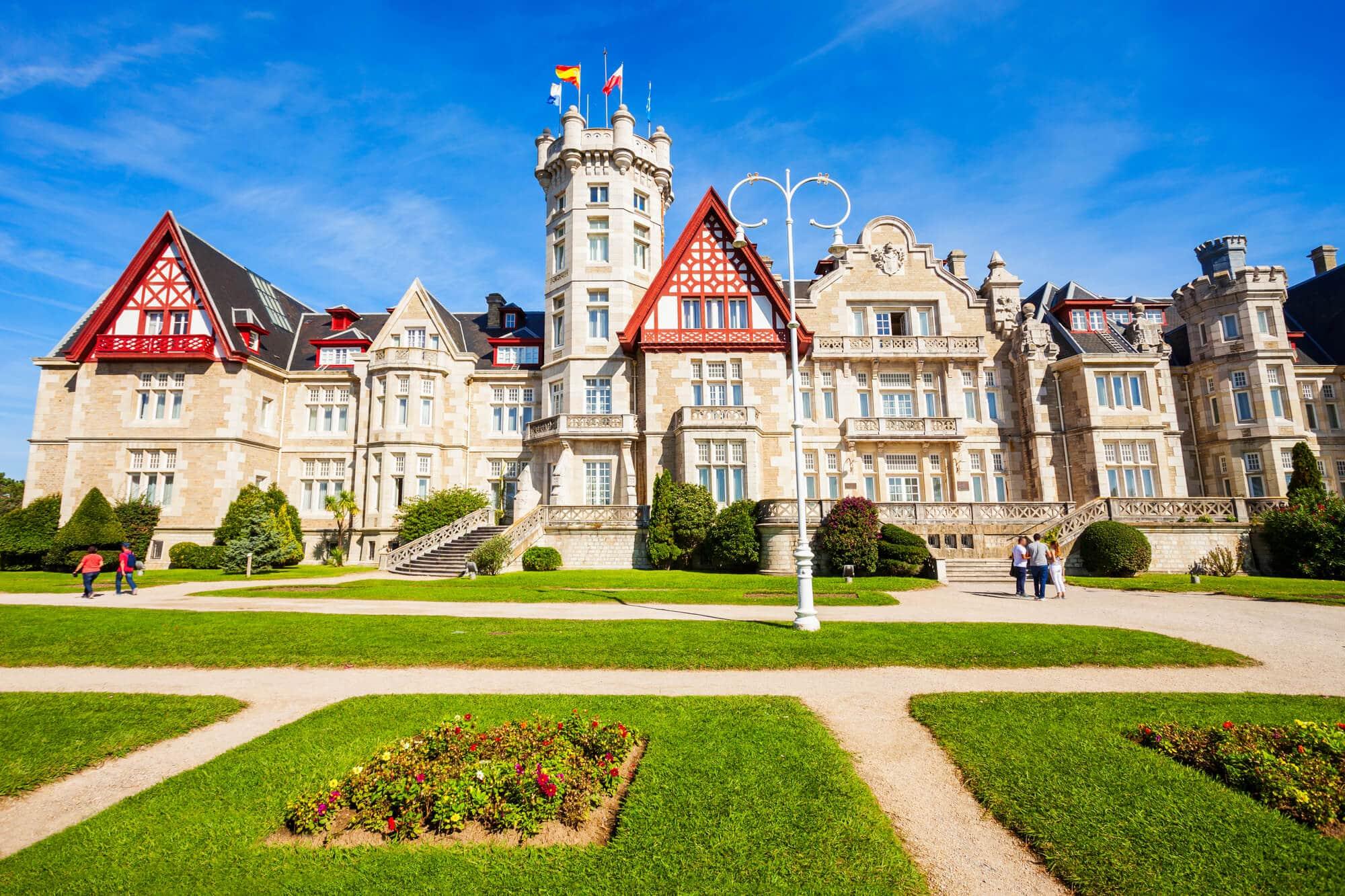 Palacio de la Magdalena, a palace in Santander and the backdrop of Gran Hotel on Netflix - The Ultimate Spain Bucket List