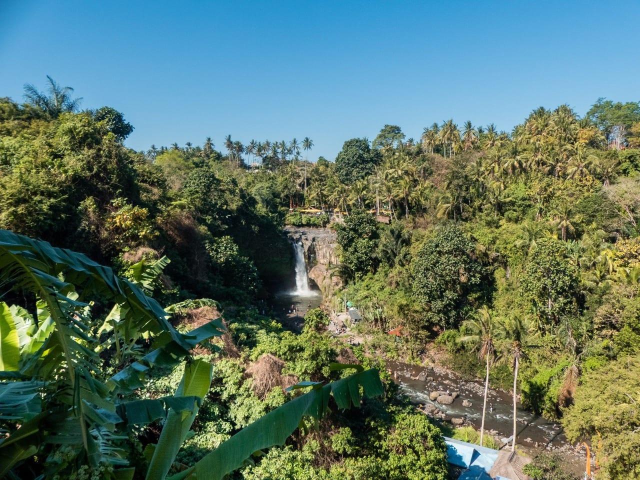 A guide to all the best waterfalls in Ubud Bali - Tegenungan Waterfall