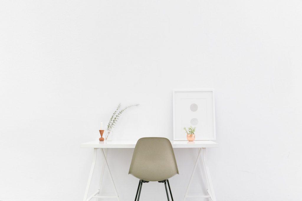 Simpelt skrivebord