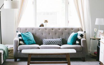 Gør gardinerne til en del af stilen i hjemmet